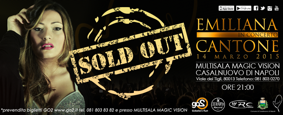 14 Marzo 2015 / SOLD OUT!